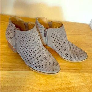 Lucky Brand grey booties 9